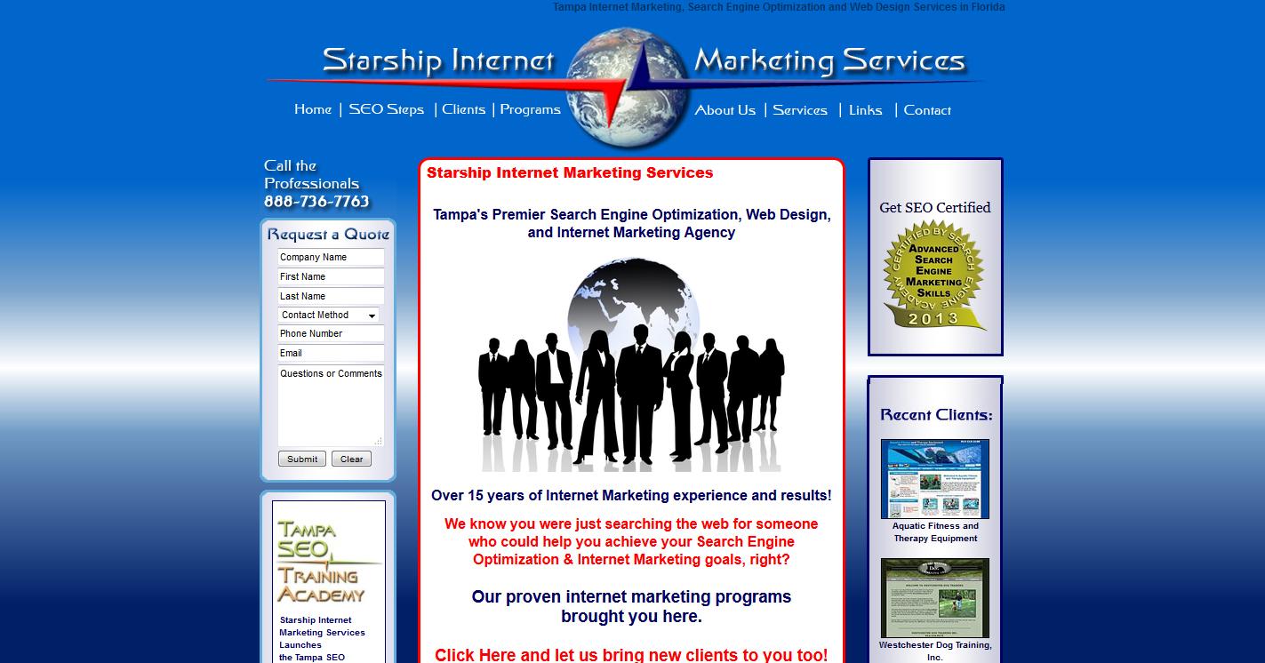 Starship Internet Marketing Services