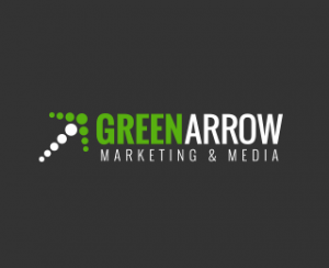 Green Arrow Marketing & Media Logo