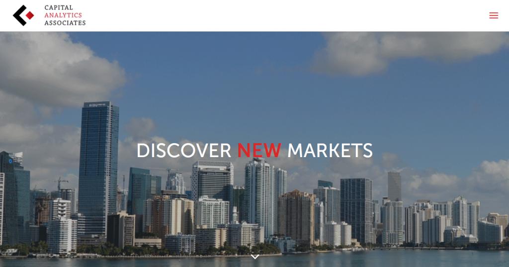 Capital Analytics Associates Website Design