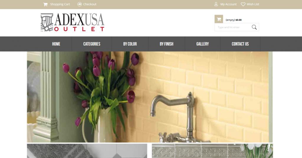 Adex Outlex Website