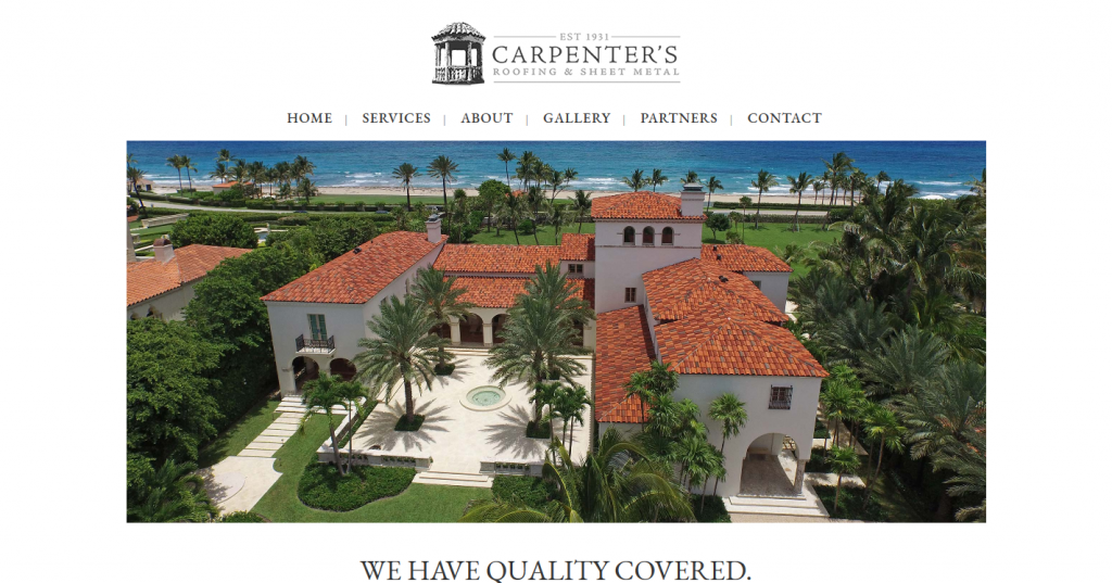 Carpenter's Roofing & Sheet Metal