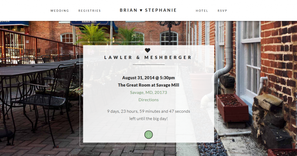 Lawler & Meshberger Wedding Block