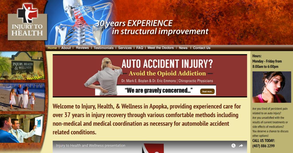 Injury, Health & Wellness
