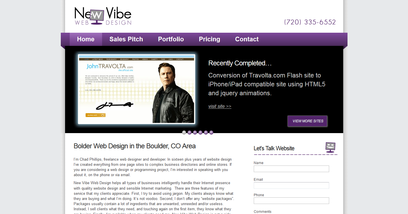 New Vibe Web Design, Inc