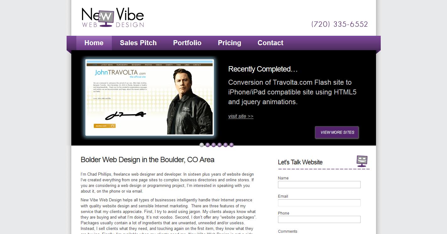 New Vibe Web Design, Inc