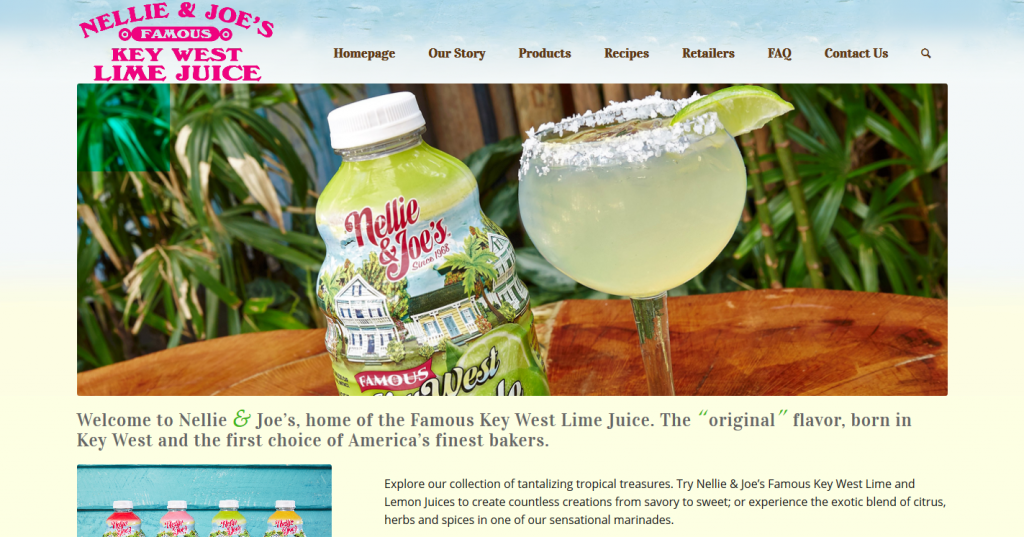 Nellie and Joe's Famous Keylime Juice