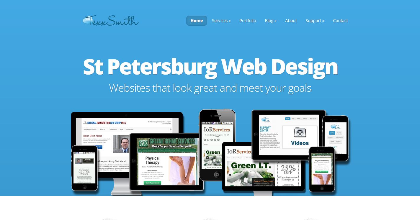 St Petersburg Web Design