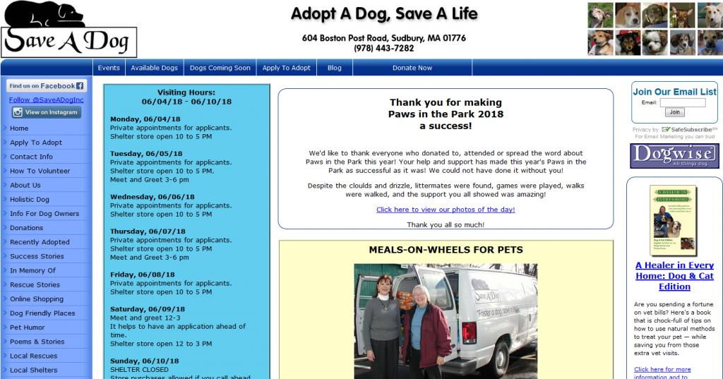 Save A Dog, Inc