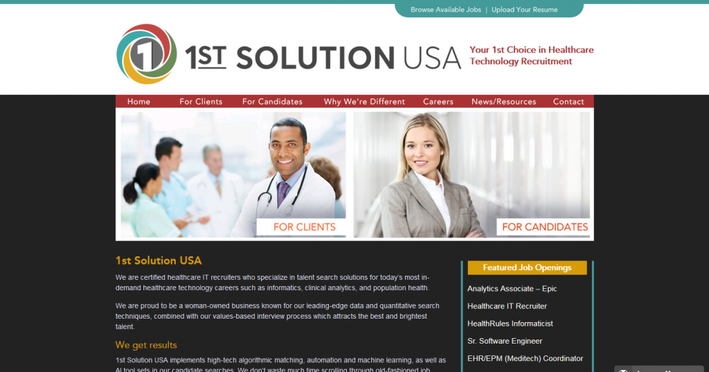 1ST SOLUTION USA