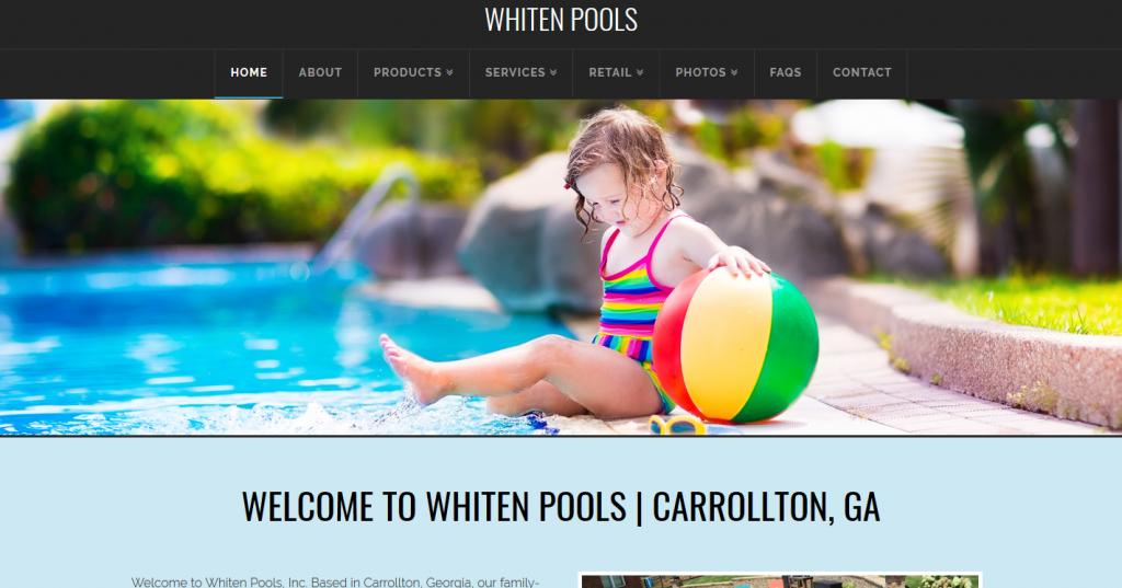 Whiten Pools