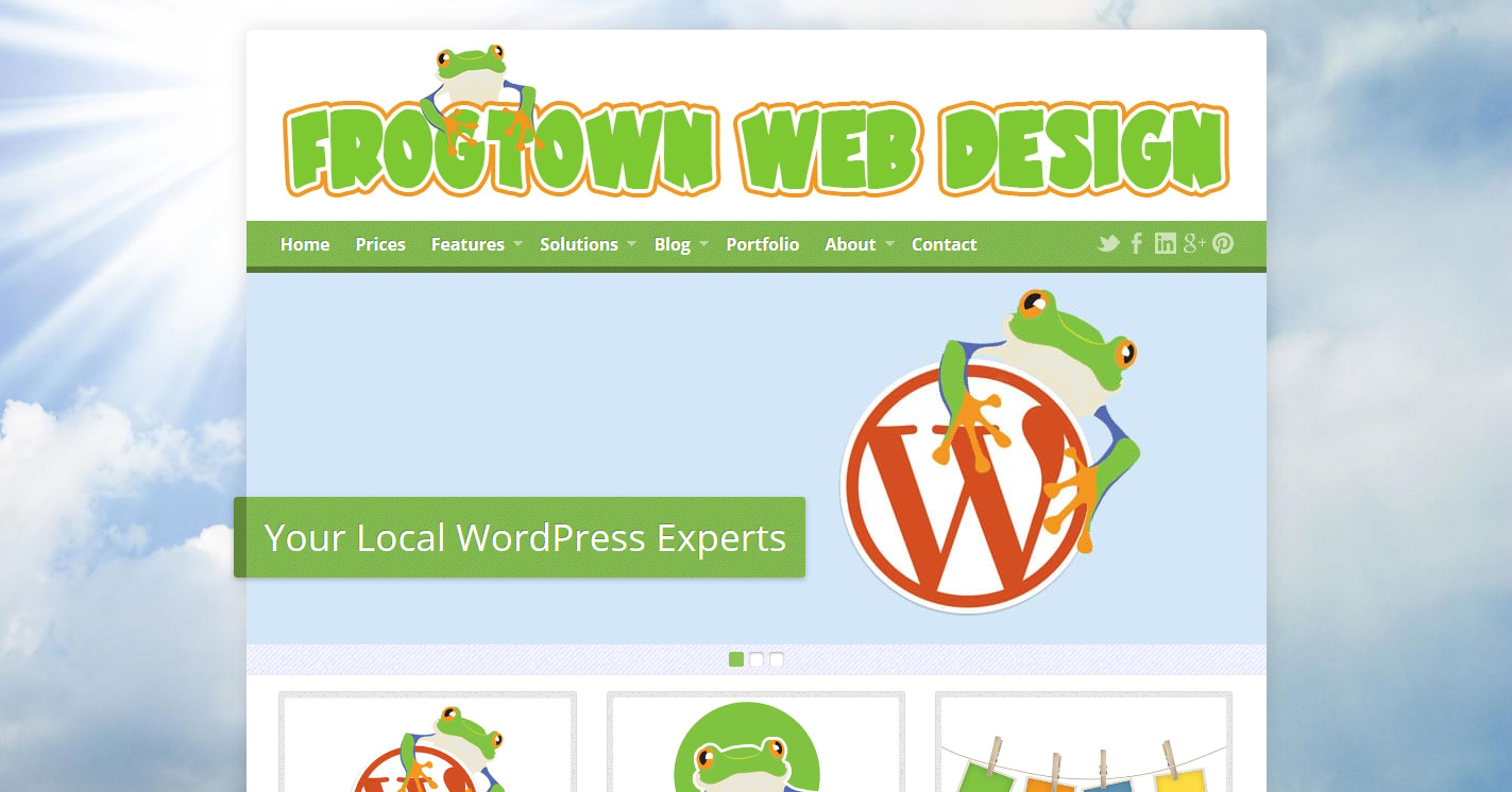 Frogtown Web Design