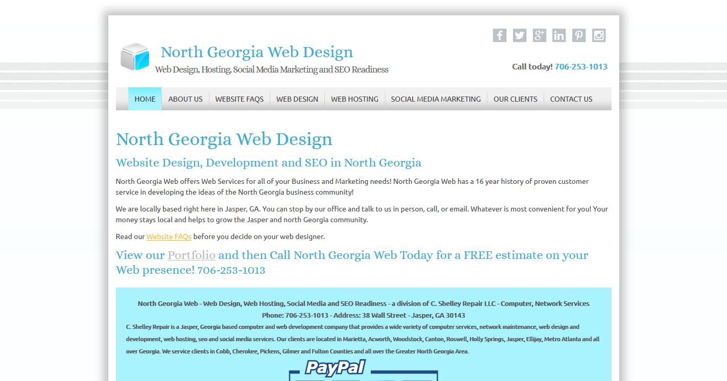 North Georgia Web Design