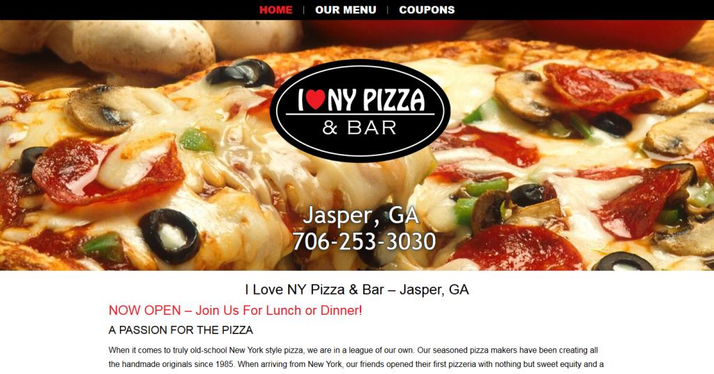 I Love NY Pizza & Bar