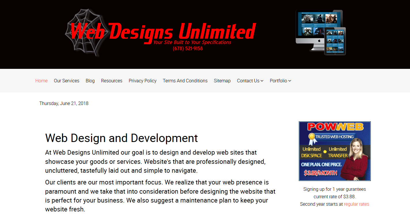 Web Designs Unlimited