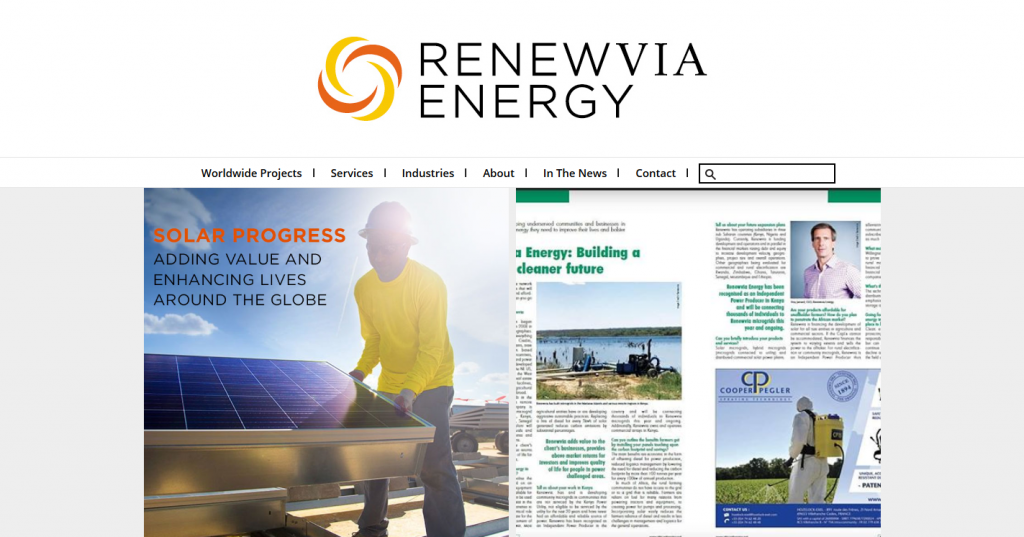 Renewvia finances