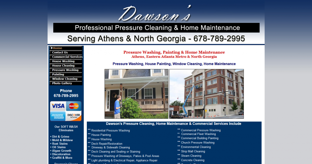 Dawson's Pressure Cleaning & Home Maintenance