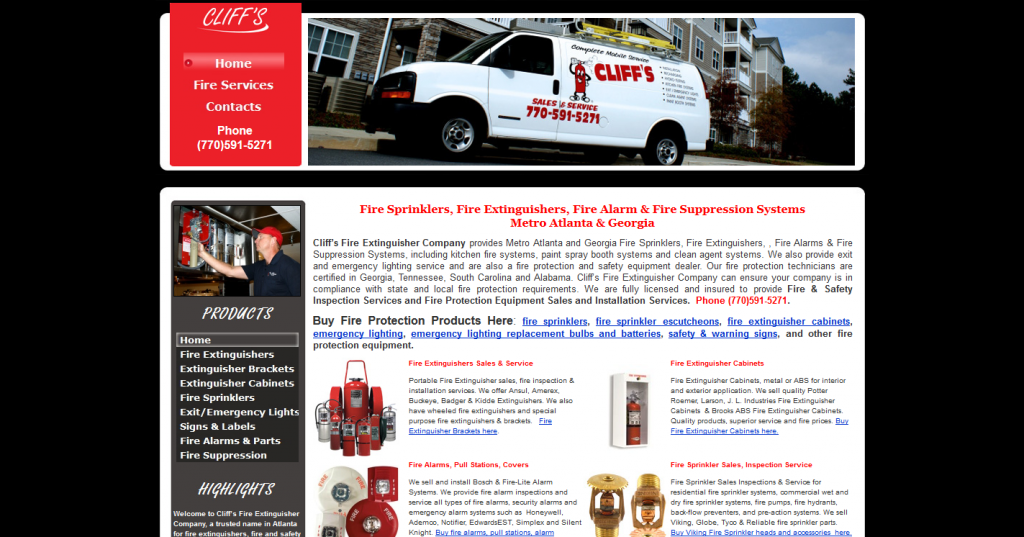 Cliff's Fire Extinguisher Company