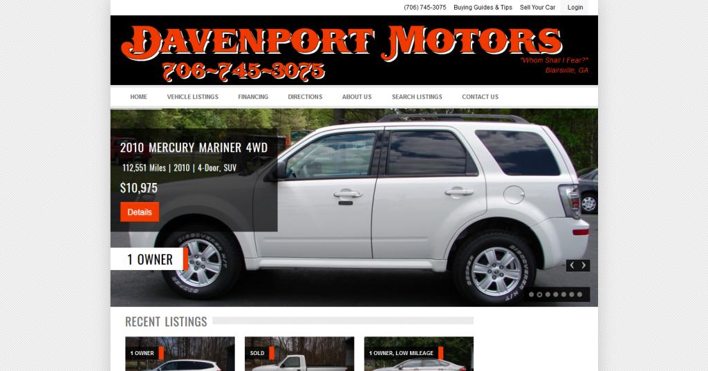 Davenport Motors