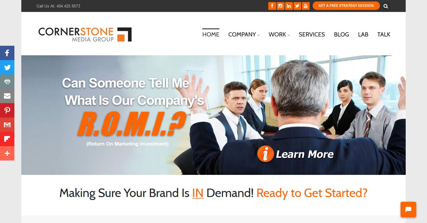 Cornerstone Media Group, Inc