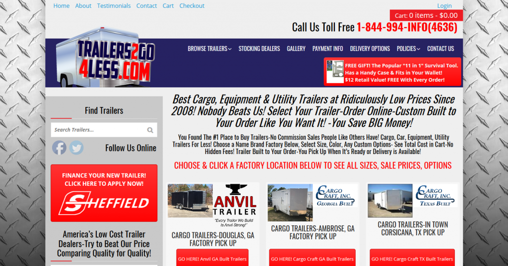 Trailers2Go4Less