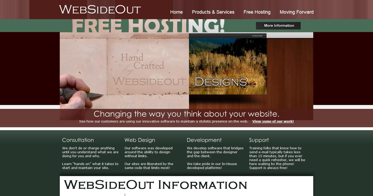 WebSideOut Website