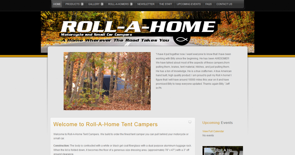 Roll-A-Home Tent Campers