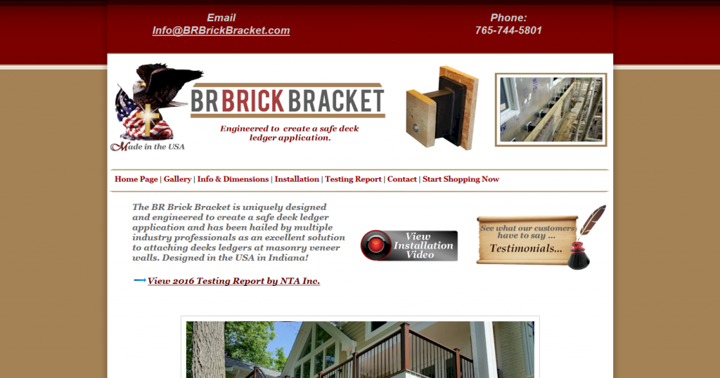 Deck Bracket Sold at Carter Lumber