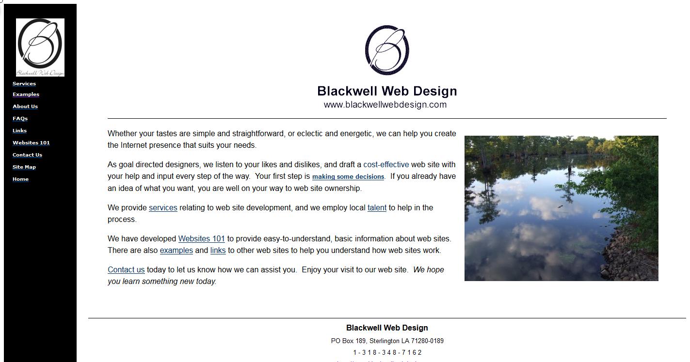Blackwell Web Design