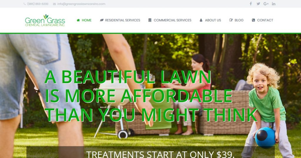 Green Grass Chemical Lawn Care Inc
