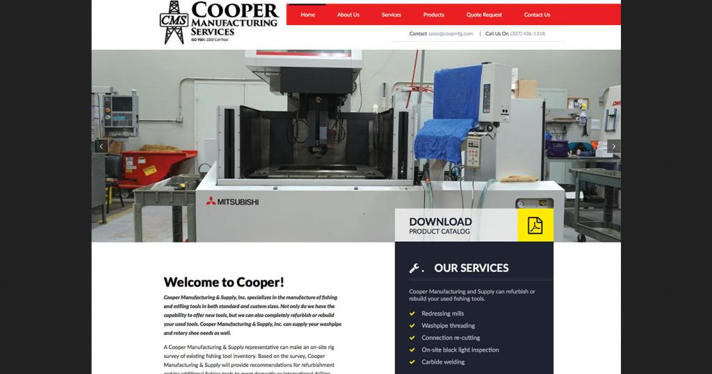 Cooper Manfacturing