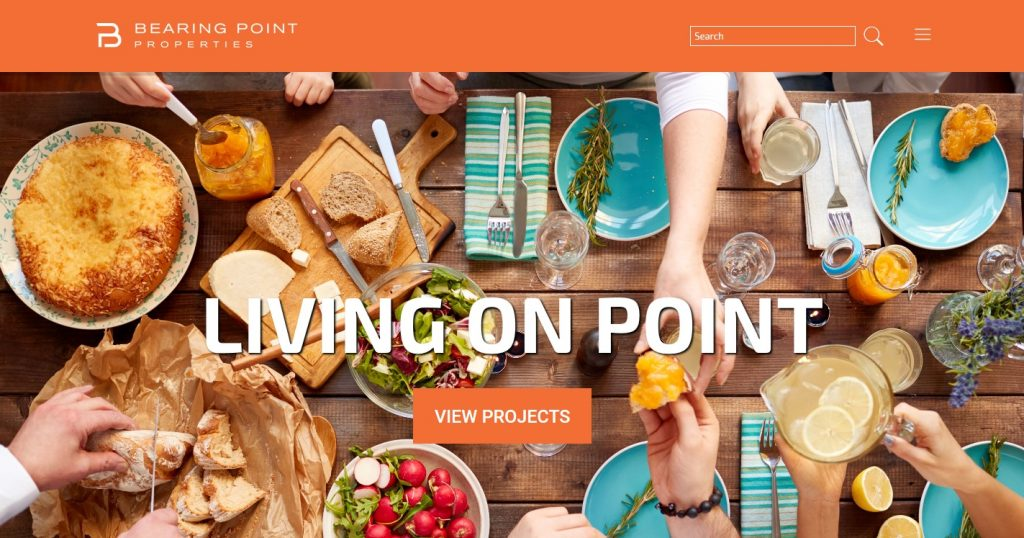 Bearing Point Properties Branding & Website