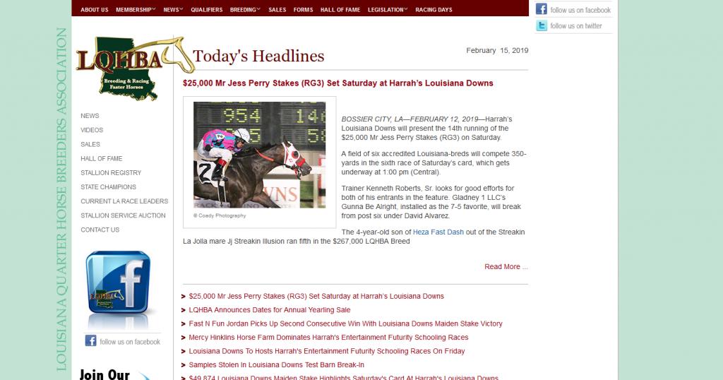 Louisiana Quarter Horse Breeders Association