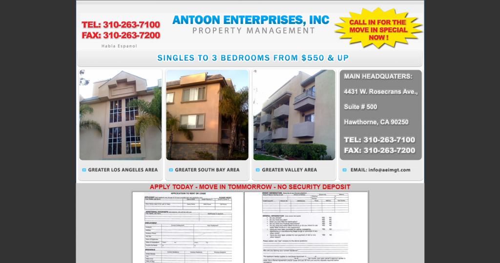 Antoon Enterprises