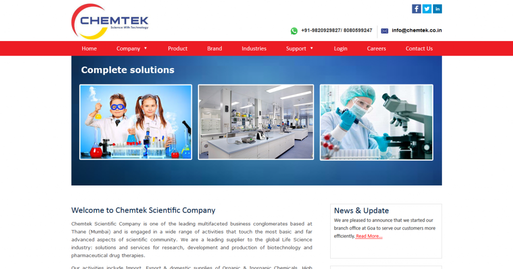 Chemtek Scientific Company