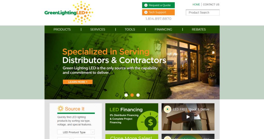 Green Lighting LED- GLL Website