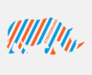 Striped Rhino Logo