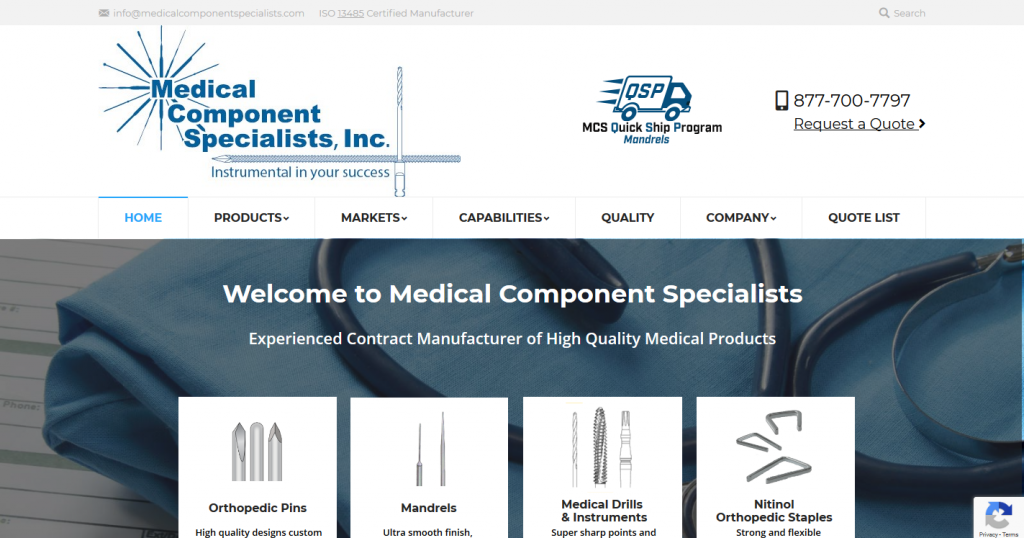 Medical Component Specialists