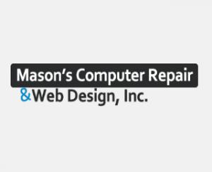 Mason's Computer Repair & Web Design Logo