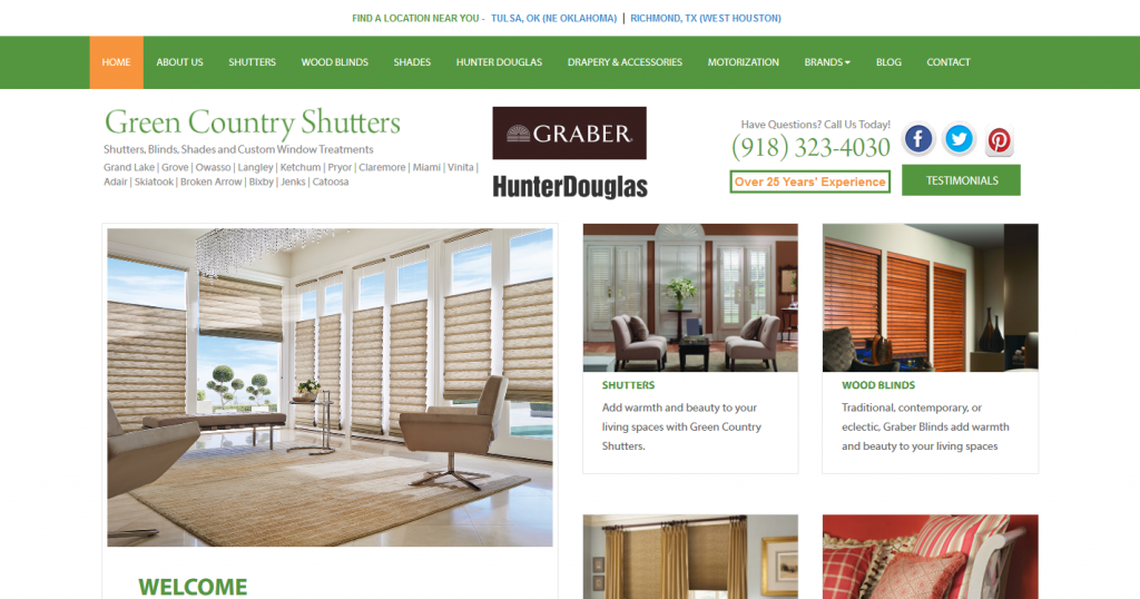 Green Country Shutters