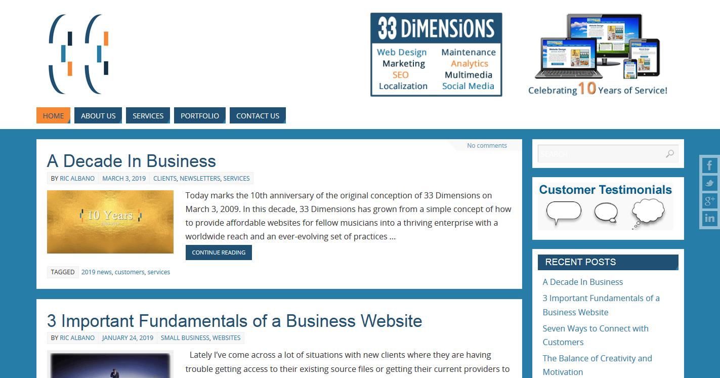 33 Dimensions, LLC