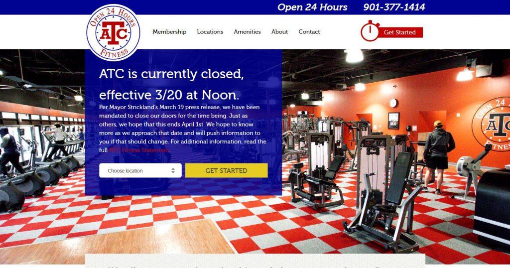 ATC Fitness Website